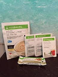 herbalife weight loss challenge sle pack protein bar deluxe vanilla almond 1