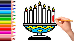 Small Picture Candlestick Coloring Pages and Drawing for Kids Learning How to