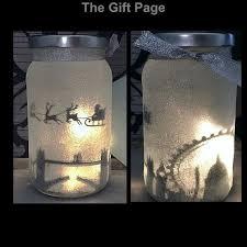 lighting in a jar. Night Light, Mood Lighting, Santa Over London In A Jar, Fairy Glitter Christmas, Light Up Jars, Mason Jars Lighting Jar E