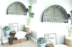 arch wall decor decoration relic decorative aged metal wooden window large me