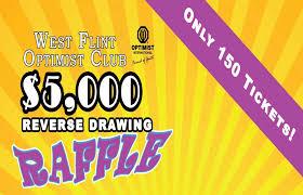 Reverse Raffle Rules West Flint Optimists Hosts 29th Annual 5 000 Reverse Raffle