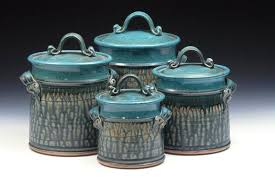 country canisters for kitchen counter