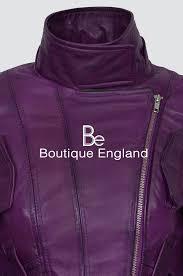 new supermodel las purple biker style designer real napa leather jacket 4110 jacken mäntel westen
