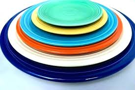Fiestaware Colors Years New Color Fiesta Chart Discontinued