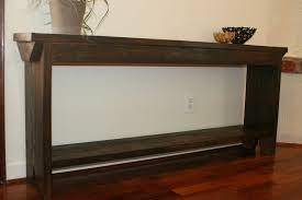 Narrow Sofa Table Saving Space Living Room Joanne Russo