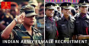 indian army female bharti 2021 indian