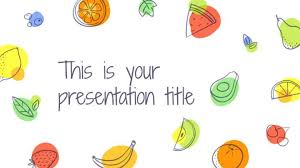 Free Playful Template For Powerpoint Or Google Slides With