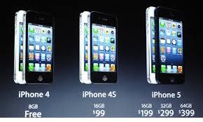 iphone 5 specs and price