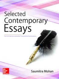 books for essay paper iii of civil services main examination selected contemporary essays