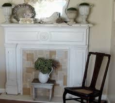inspiring faux fireplace