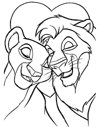 Small Picture Lion King Coloring Pages fablesfromthefriendscom