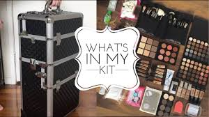 what s in my freelance mua starter kit being a makeup artist you