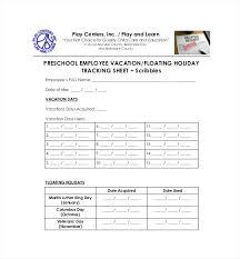Employee Time Off Tracking Spreadsheet Employee Time Off Request Form Sheet Ihss Santa Clara Timesheet
