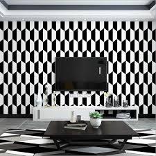 Modern 3D White,Black Design Wallpaper For Bedroom Wall Covering Geometric Wall Paper Home Decor Luxury Living Room Wallpaper