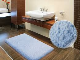 Bathroom:Multi Coloured Bath Mat Made From Gravel Inspiration Fluffy Bathroom  Rugs Mat With Sky