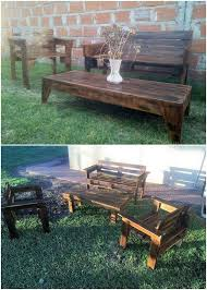 garden furniture from wooden pallets. patio furniture wood pallets ideas to transform into unique things recycled garden from wooden