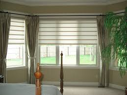 pretentious inspiration bay window curtains ideas pictures curtain photos with blinds for kitchen