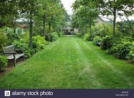 u s a massachusetts boylston tower hill botanic garden stock image