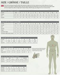 Deerhunter Jacket Size Chart Deerhunter Size Guide