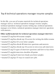 Operations Manager Resume Examples top10000technicaloperationsmanagerresumesamples10000lva100app6100009100thumbnail100jpgcb=1001003210095002 60