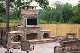 outdoor fireplace kits wood burning stones