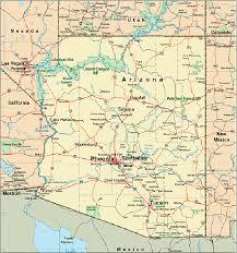 map of arizona cities maps pinterest Travel Map Of Arizona Travel Map Of Arizona #21 travel map of arizona and utah