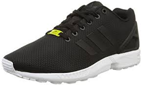 adidas zx. adidas originals unisex zx flux sneakers eur 46 2/3 black zx