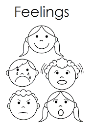 Small Picture Feelings Coloring Page Coloring Home
