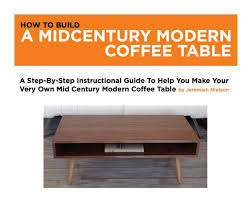 woodworking plans modern furniture. Plain Modern Woodworking Plans Furniture Mid Century Coffee Table Diy Modern Il Full With