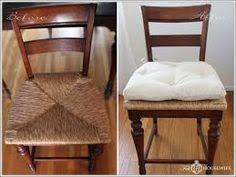 image result for change a patio chair cushion seat to a dining room cushion seat