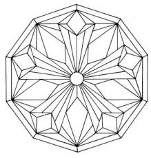Small Picture Mandalas Coloring pages for kids to print color