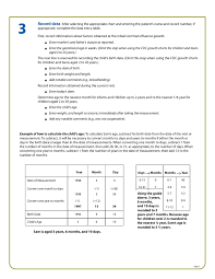 Cdc Growth Chart Use And Interpretation Of The Who And Cdc Growth Charts