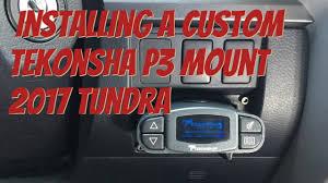 replacing 2017 tundra itbc tekonsha p3 brake controller w replacing 2017 tundra itbc tekonsha p3 brake controller w custom bracket