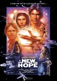 Resultado de imagem para star wars a new hope logo