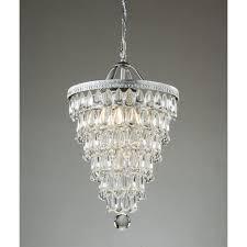 clarissa glass drop chandelier