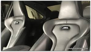 <b>Clean leather</b> car seats with tips from the professional detailer!