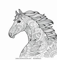 13 Unique Free Horse Coloring Pages Coloring Page