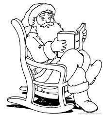 Small Picture Free Printable Santa Claus Coloring Pages For Kids