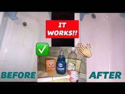 how i clean my bathtub dawn baking soda vinegar does it work