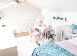 Next Bedroom Wallpaper Loft Bedroom Update With Next Geometric Wallpaper Home With The