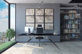 extravagant home office room. 19  ; Visualizer: George Dimitrov. On Trend Industrial Home Office Decor Extravagant Room