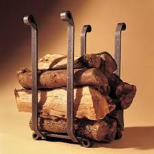 firewood rack gas fireplace inserts