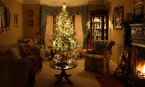 Xmas Living Room Wonderful Christmas Living Rooms Living Room Traditional