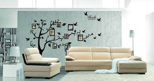 ideas for family room wall decor with white ruern leather sofa using small table