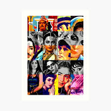 Decorate your home or office with one of our bollywood wall clocks! Bollywood Wall Art Redbubble