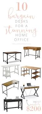 home office desks ideas. brilliant home 10 bargain desk ideas for a stunning home office with desks n