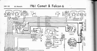 auto wiring diagram 1961 ford falcon comet wiring diagram