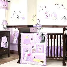 nursery bedding sets girl purple crib per baby bedding sets girl best adorable images on babies