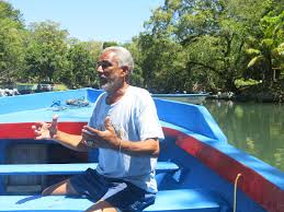 photo essay motorbike trip to rio san juan turf to surf felix boat guide rio san juan n republic