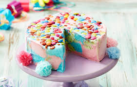 Rainbow Ice Cream Cake Recipe New Idea Magazine